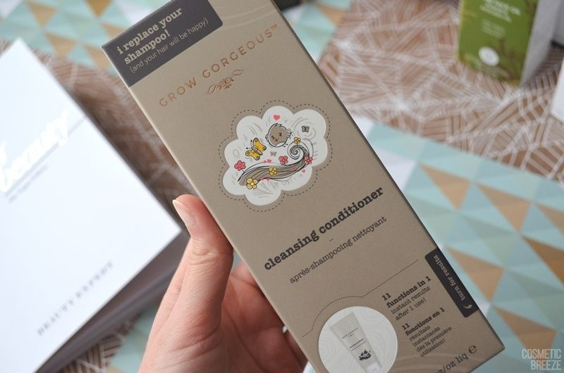 The Vegan Edition by Beauty Expert - GROW GORGEOUS Cleansing Conditioner 11in1