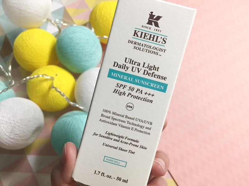 Protector Solar de Kiehls - Ultra Light Daily UV Defense Mineral Sunscreen