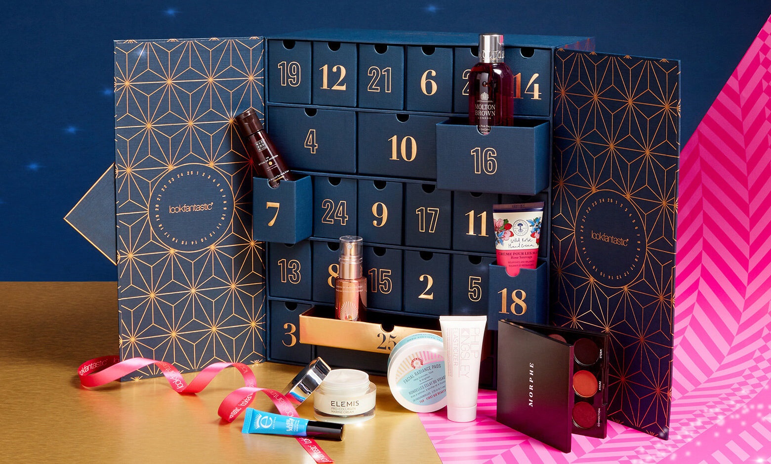 Contenido del Calendario de Adviento 2019 de Lookfantastic Beauty Advent Calendar Spoiler