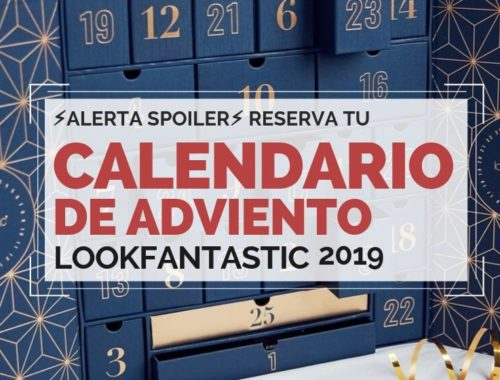 Reserva tu Calendario de adviento 2019 lookfantastic beauty advent calendar