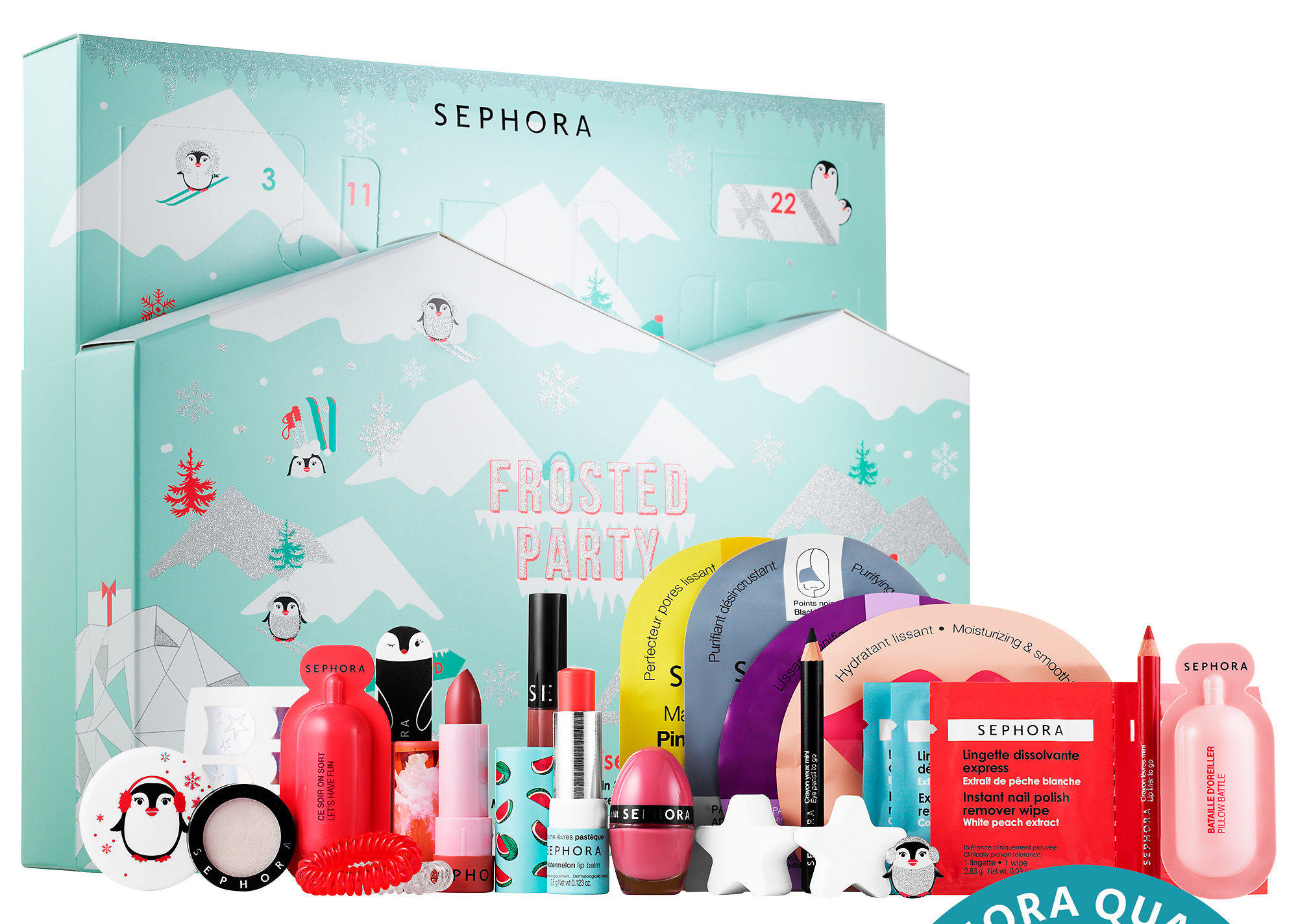Calendario de Adviento 2019 de Sephora Frosted Party Adven Calendar 2019 Sephora