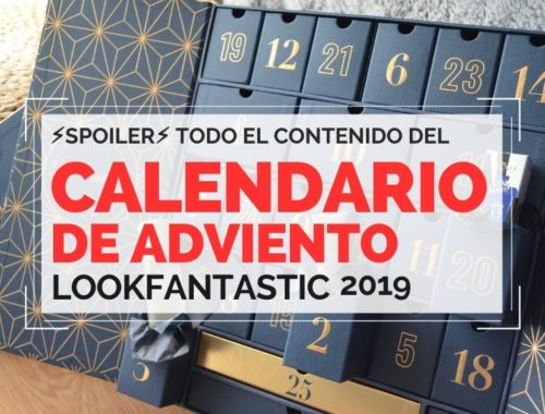 Calendario de Adviento Lookfantastic 2019 Lookfantastic Advent Calendar