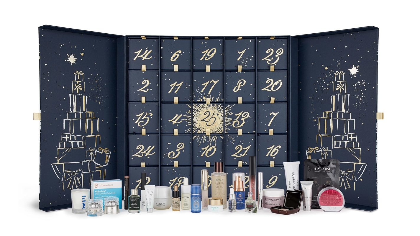 Calendario de Adviento de Belleza de Harrods 2019 -The Harrods Beauty Advent Calendar 2019