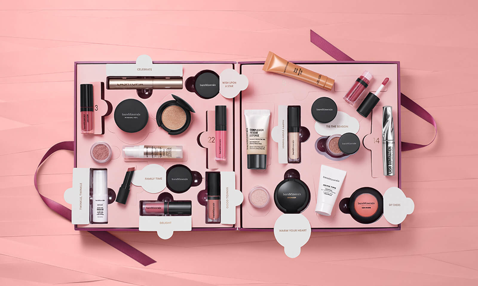 Calendario de Adviento de bareMinerals 2019