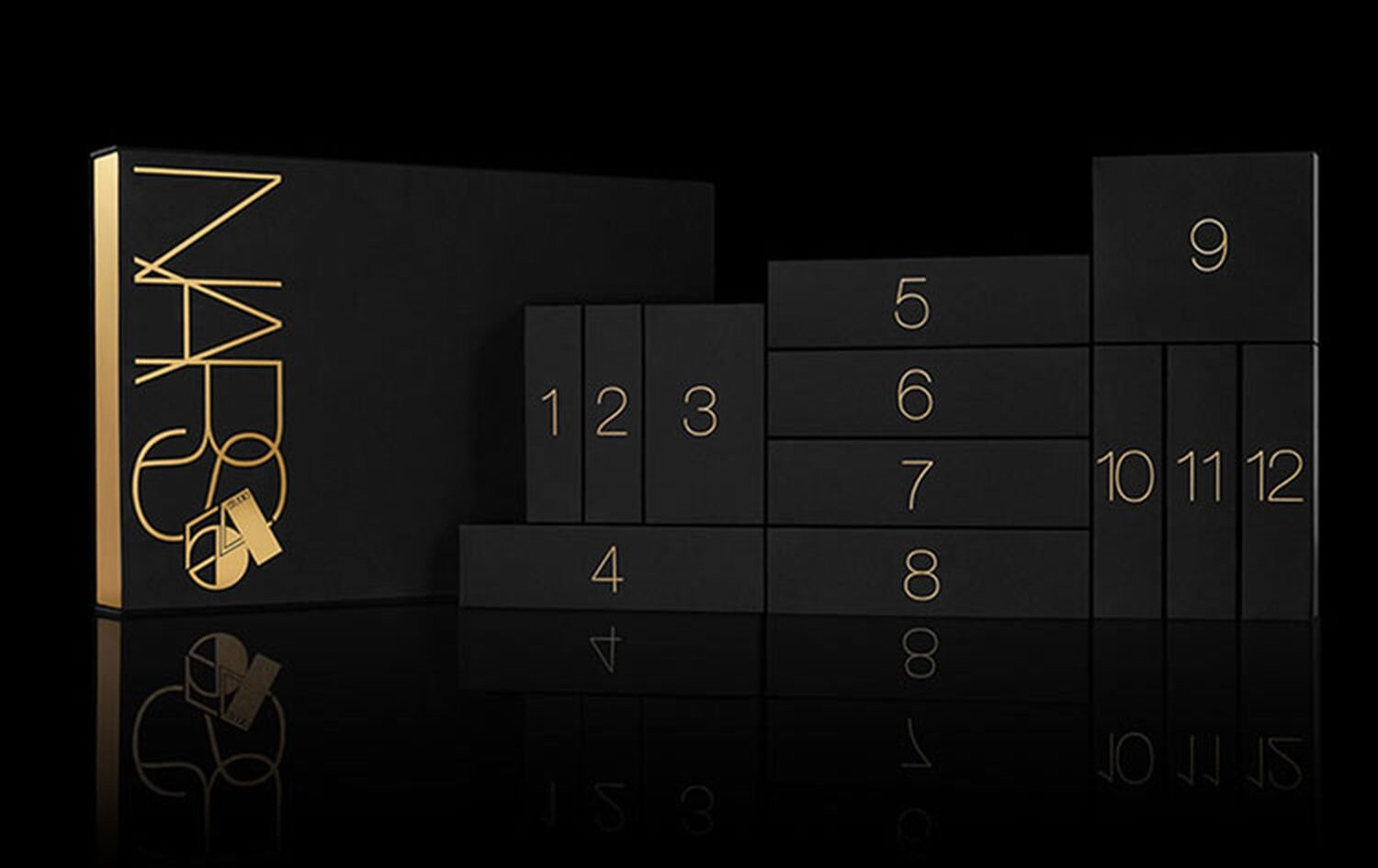 Calendario de adviento nars 2019 - 12 favoritos