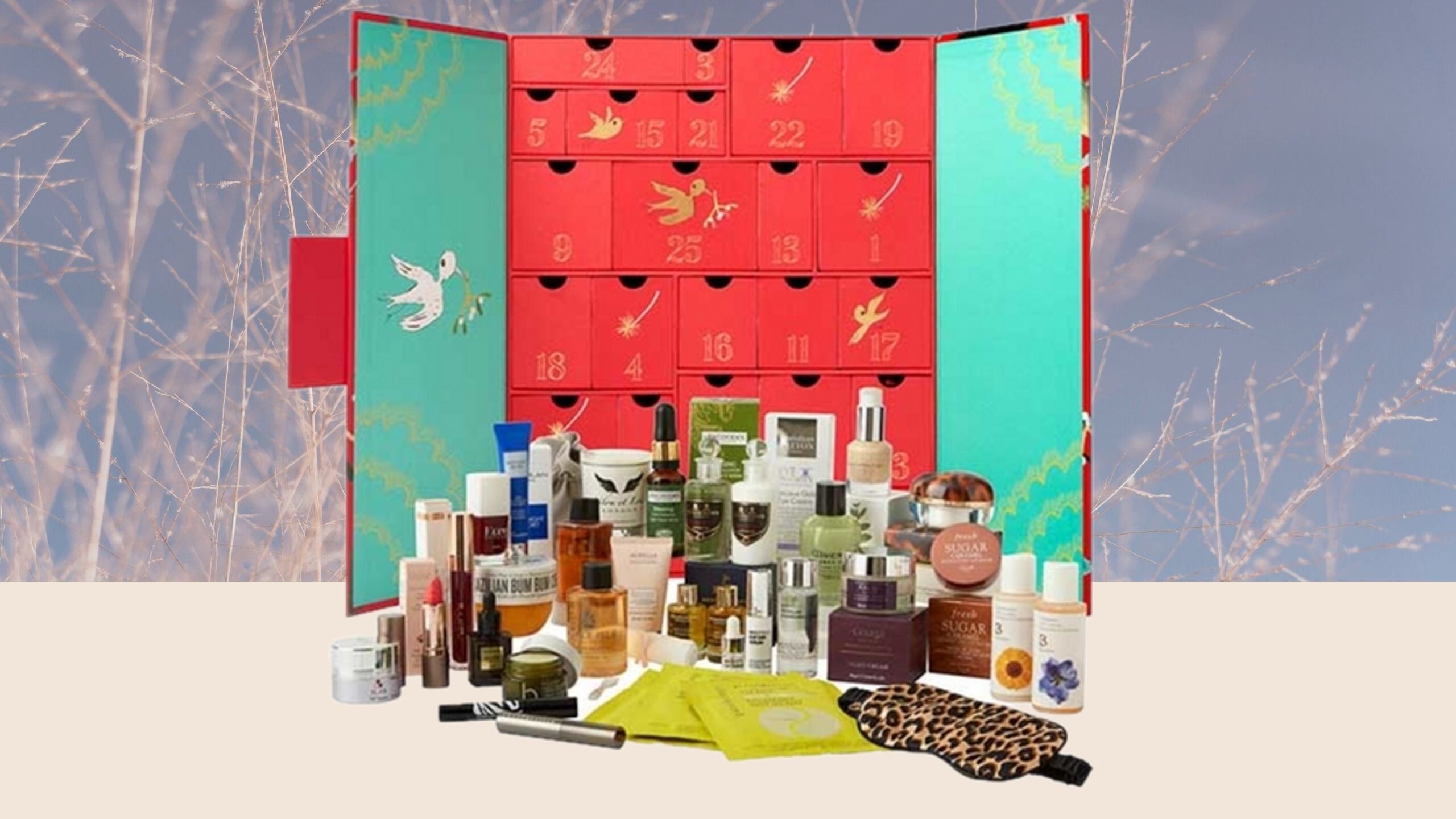 Fortnum and mason beauty advent calendar 2019
