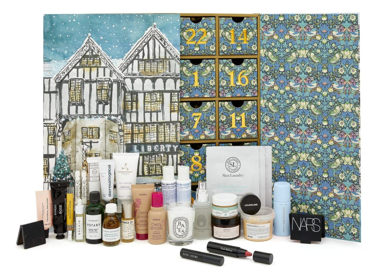 Liberty London Beauty Advent Calendar 2019 - Calendario de Adviento de Liberty London
