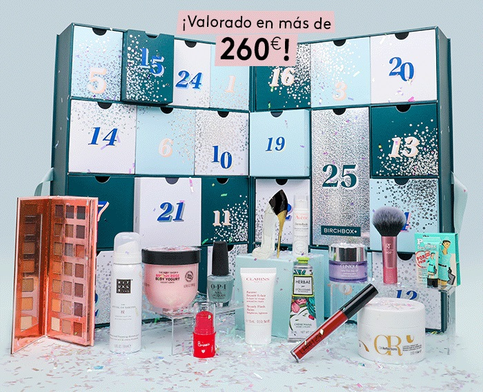 calendario de adviento birchbox 2019 original