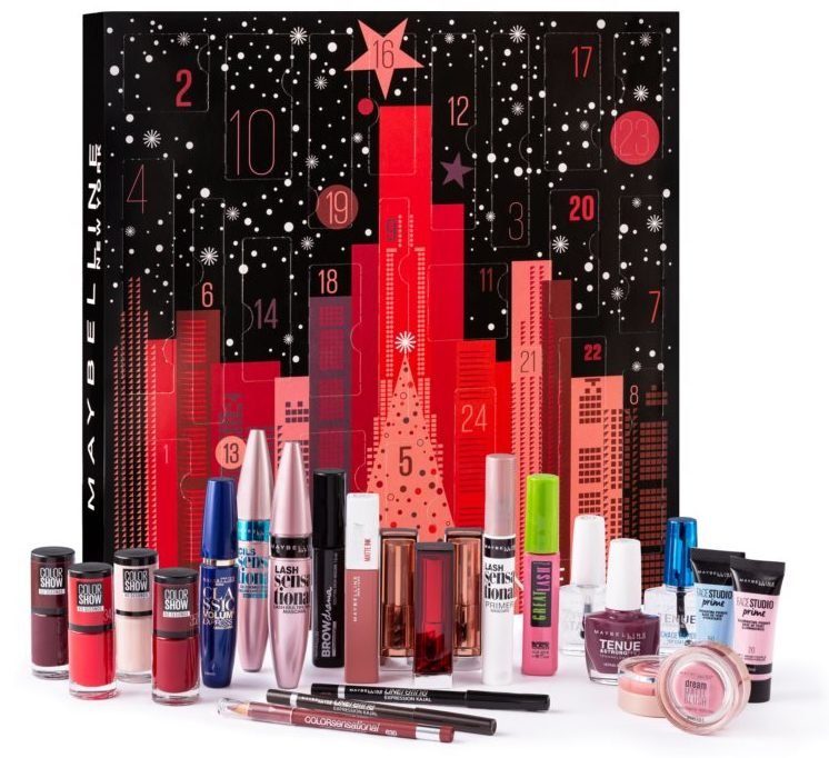 maybelline-christmas-calendario-de-adviento