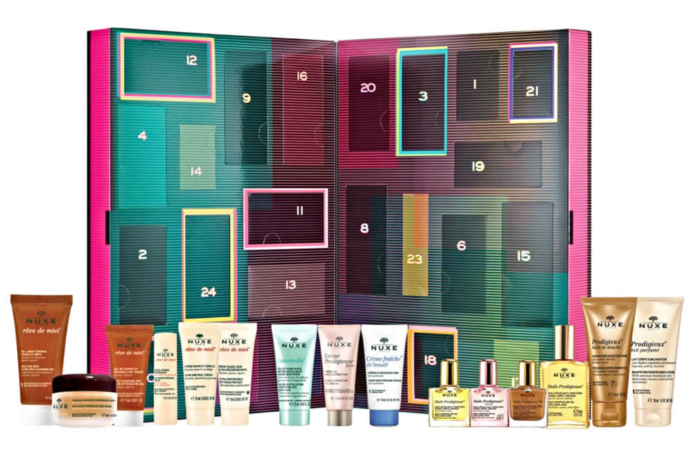 nuxe magnifique beauty countdown advent calendar 2019