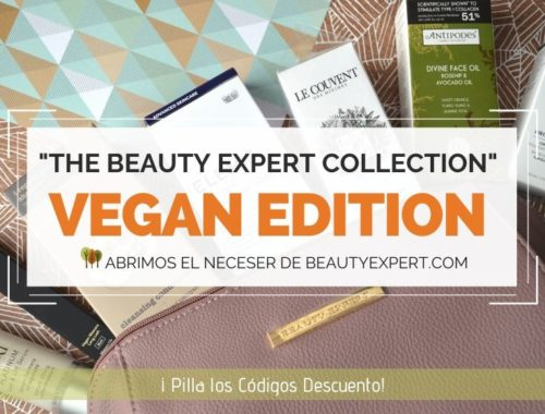 The Vegan Edition - Spring Collection by BEAUTY EXPERT and LOOKFANTASTIC Neceser de primavera de The Beauty Expert Collection