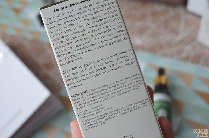 The Vegan Edition by Beauty Expert - ANTIPODES Divine Face Oil Rosehip and Avocado Descripcion e Ingredientes