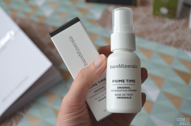 The Vegan Edition by Beauty Expert - bareMinerals Prime Time Foundation Primer Envase