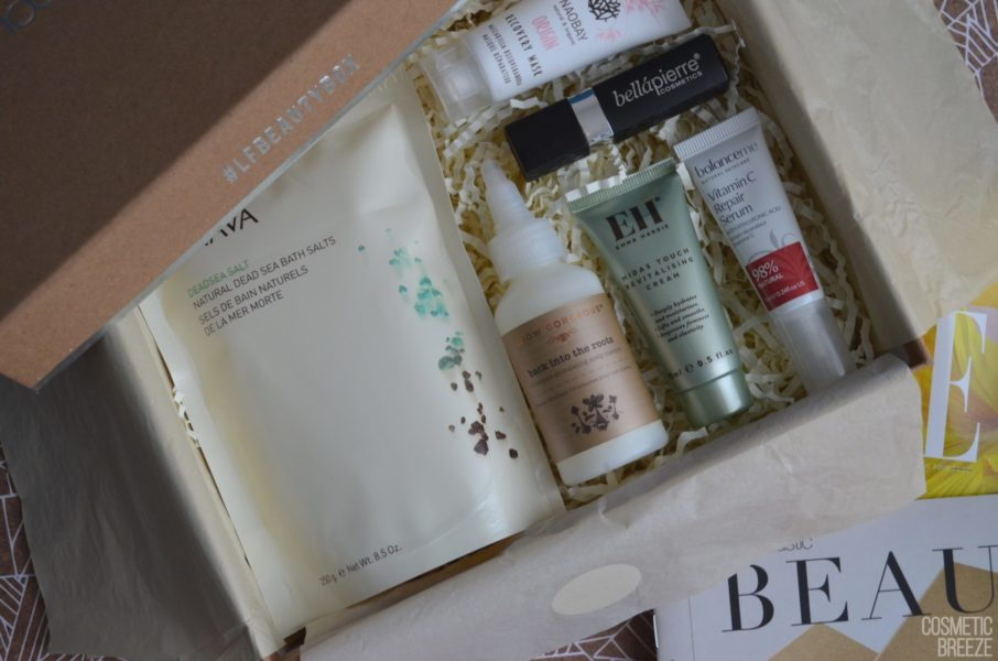 Lookfantastic Beauty Box de Abril 2019