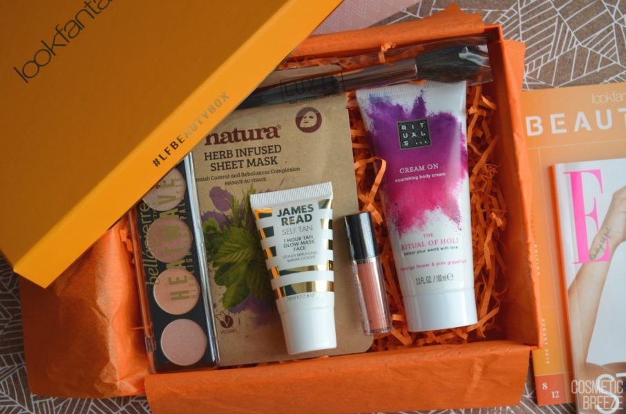Lookfantastic Beauty Box de Agosto 2019