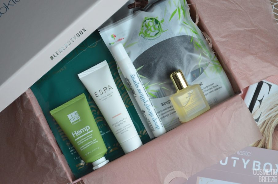 Lookfantastic Beauty Box de Noviembre 2019