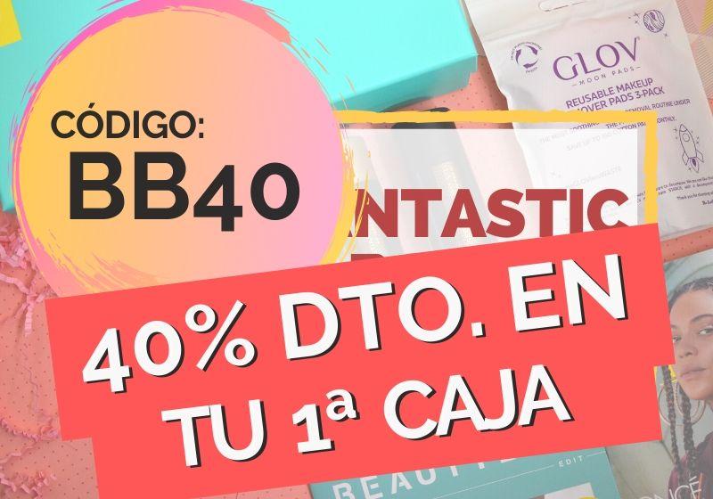 40 DESCUENTO EN TU PRIMERA CAJITA DE BELLEZA LOOKAFNTASTIC