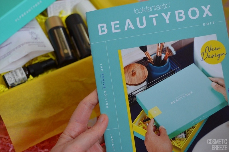 Lookfantastic Beauty Box de Enero 2020 - Revista (1)