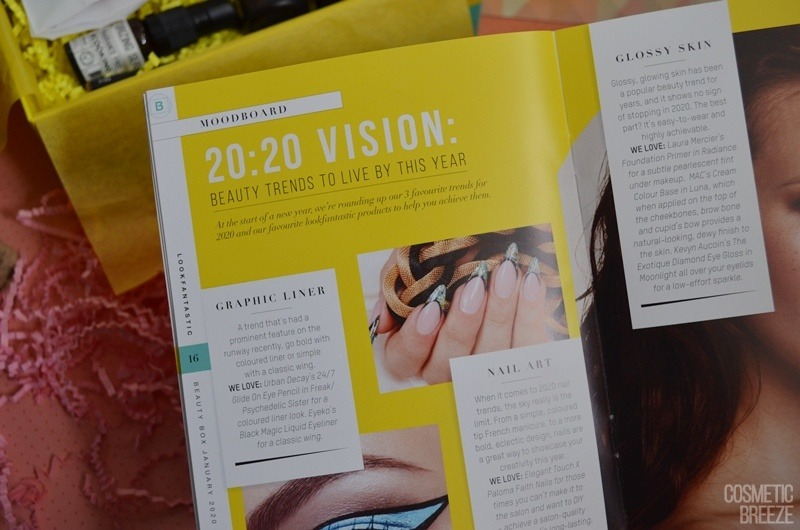 Lookfantastic Beauty Box de Enero 2020 - Revista (4)