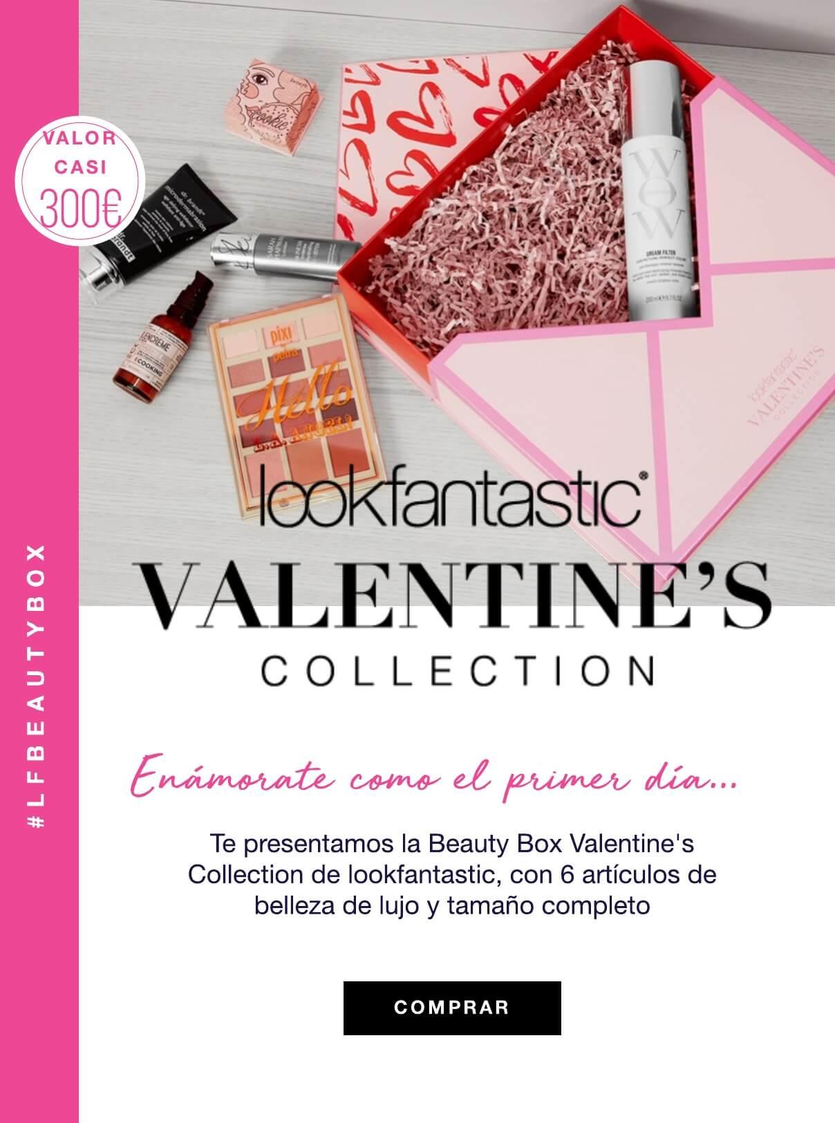 caja edicion limitada san valentin lookfantastic valentines collection beauty box