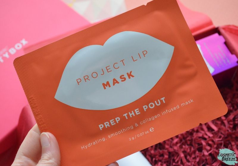 Lookfantastic Beauty Box de Febrero 2020 - PROJECT LIP Mascarilla Labios