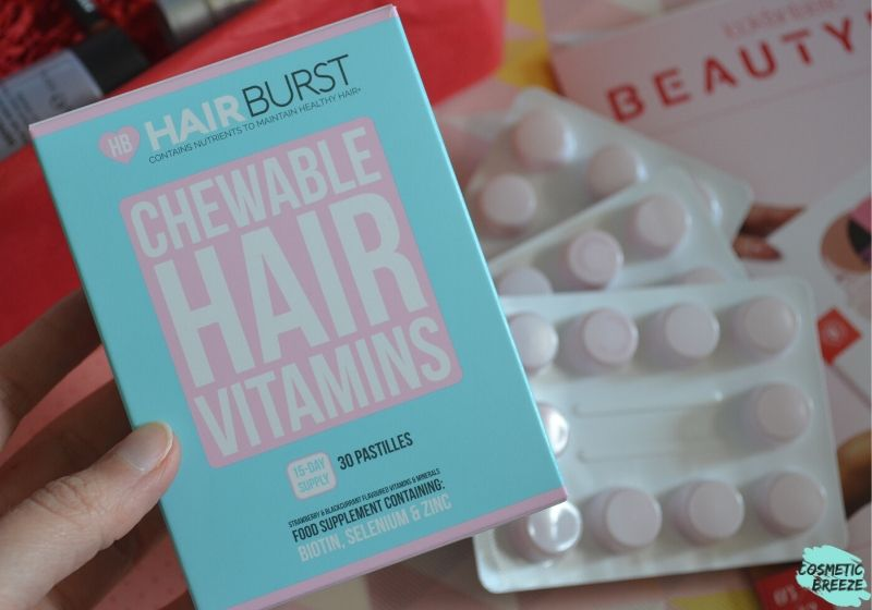 Lookfantastic Beauty Box de Marzo 2020 - Hairburst Healthy Hair Vitamins