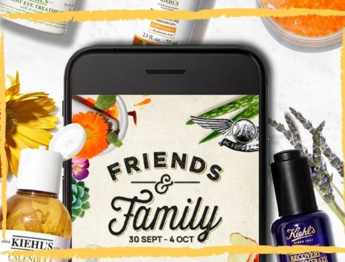 Friends & Family Day Octubre 2020 de KIEHLS